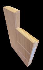 <p>Het AluProfile® deurpaneel is een afgeleide van het AluTherm® deurpaneel. Het verschil met het AluTherm® deurpaneel is dat voor een variabele borstwering kan worden gekozen zodat deze deurromp ingezet kan worden als balkondeur, openslaande tuindeur of,