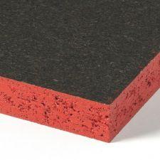 <p>Vochtwerend spaanplaat 2-zijdig voorzien van een roodbruine coating.</p> <p>Wanneer de randen goed zijn beschermd vertoond deze plaat door zijn speciale verlijming V313 spaanplaat mindere zwelling en/of uitzetting in vochtige omgevingen.</p> <p>Om do