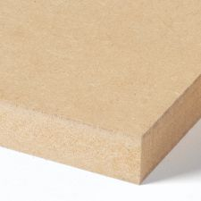 <p>MDF, Medium Denisty Fibreboard is een vezelplaat welke geschikt is voor binnen toepassingen. Het verwerk zicht makkelijk en is uitstekend te lakken. MDF kenmerkt zicht door zijn gladde oppervlakte.</p>