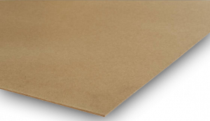 <p>Deze lichtgekleurde hardboardplaat, geperst uit houtvezels, is afkomstig van Finse plantages die meestal onder de PEFC-norm vallen. Een zeer functionele plaat die vele toepassingen kent.</p>