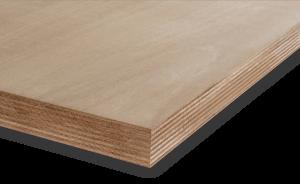 <p>Okoume is een van de populairste multiplexen in Nederland.</p> <p>Het heeft een fijne nerf, is laag in gewicht, kan uitstekend bewerkt en geschilderd worden en het heeft een fraaie warme tekening in het fineer.</p> <p>Een plaat die zich de laatste ti
