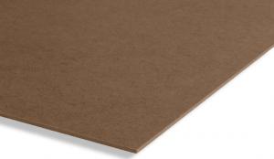 <p>Deze donkergekleurde hardboardplaat, geperst uit eucalyptus houtvezels, is afkomstig van Braziliaanse plantages die meestal onder de FSC-norm vallen. Een zeer functionele plaat die vele toepassingen kent.</p>